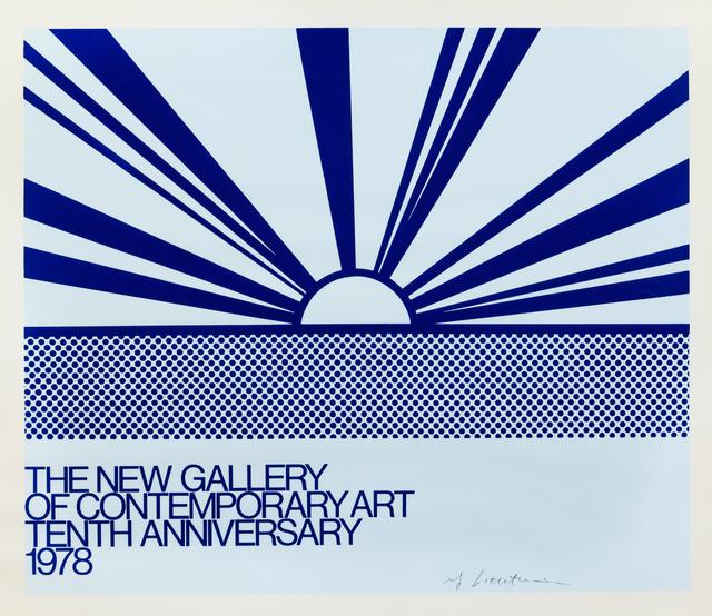 Roy Lichtenstein, 'The New Gallery of Contemporary Art', 1978, Hindman