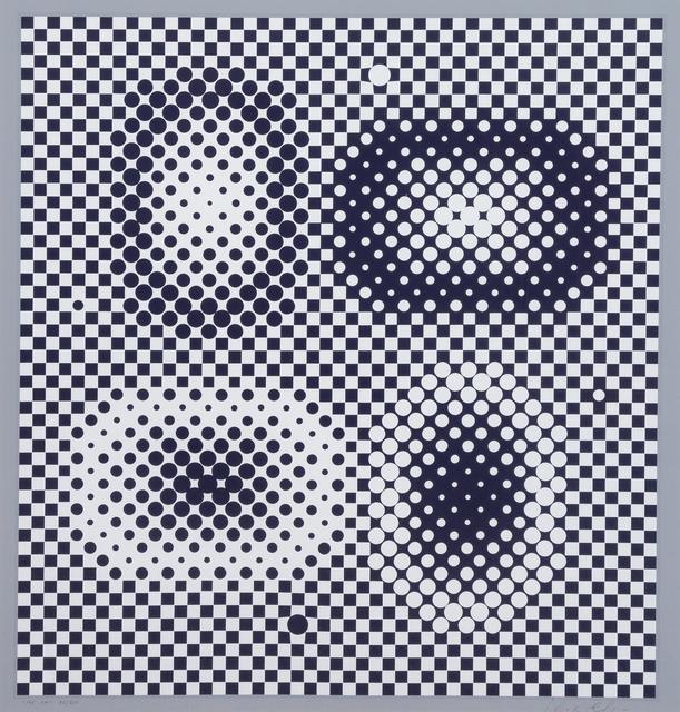Victor Vasarely, 'ME-TA from Bach', 1965, Print, Silkscreen, Hindman