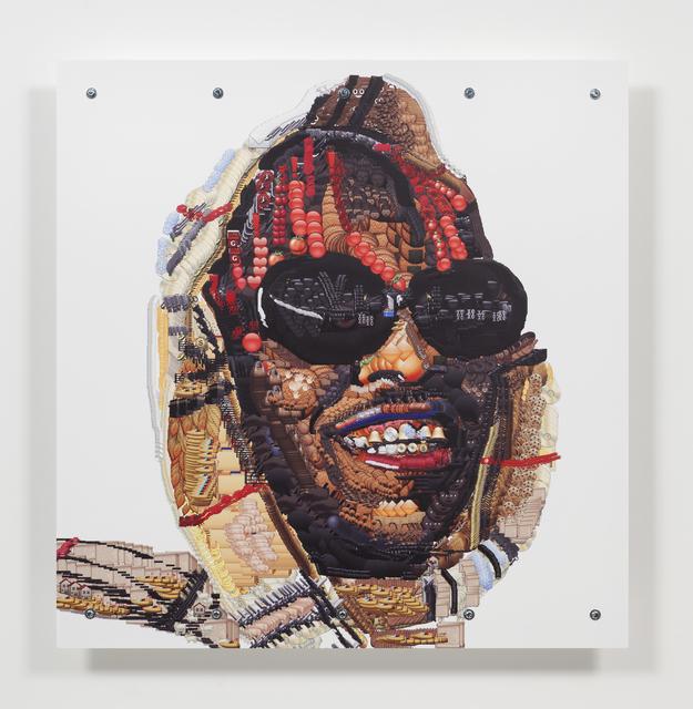 , 'lil boat emoji,' 2016, Steve Turner