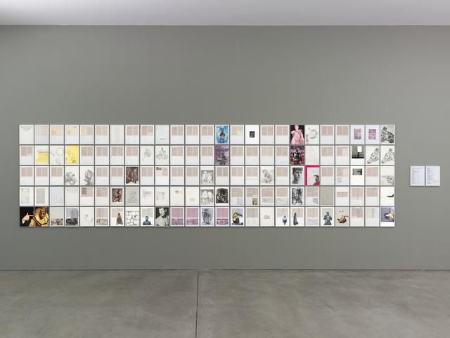 , 'Lektüre und Ablenkung,' 2016/17, Galerie Thomas Schulte