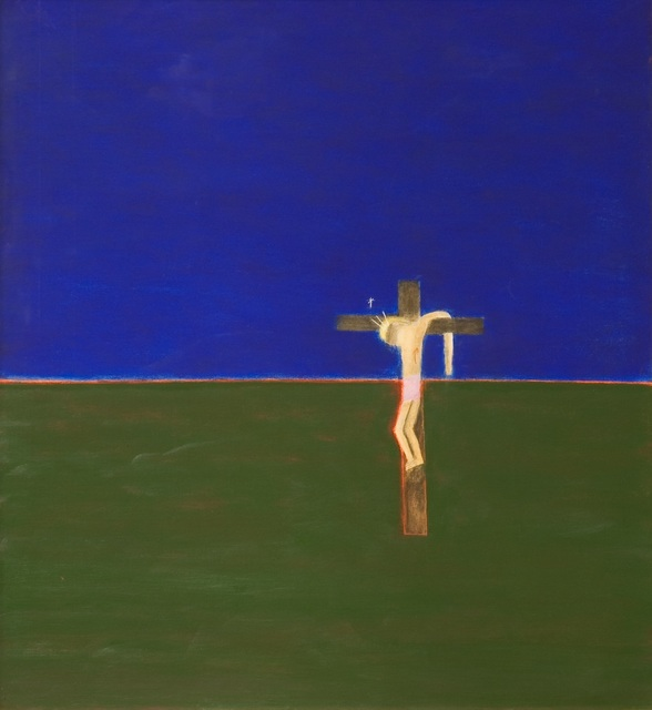 , 'Crucifixion,' 1994, Mall Galleries