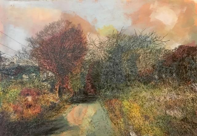 David Bailin, 'Red Trees', 2019, Koplin Del Rio