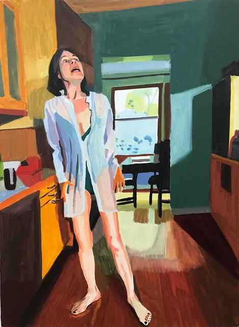 Chelsea Gibson, 'Jeri Describing Childbirth II', 2019, Lyons Wier Gallery