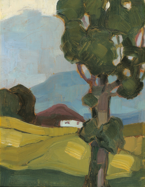 , 'Summer Landscape with House and Tree,' 1920, Galerie Bei Der Albertina Zetter