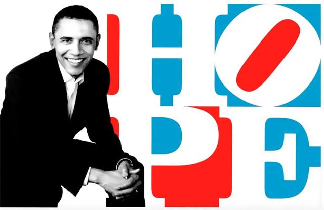 , 'Obama HOPE (Red/White/Blue),' 2010, Contini Art UK