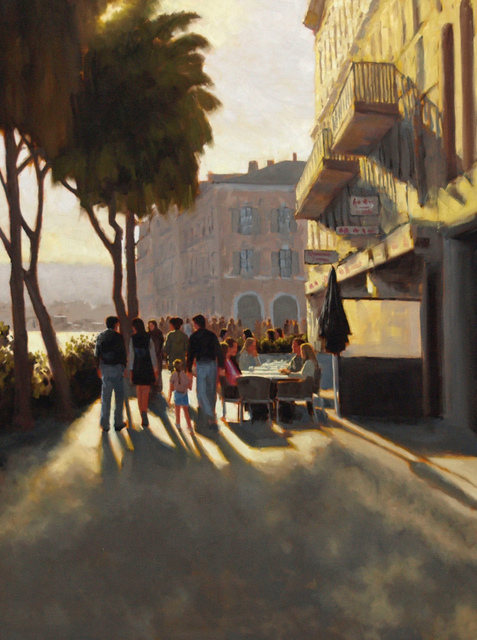 , 'Afternoon Stroll,' 2016, Susan Calloway Fine Arts
