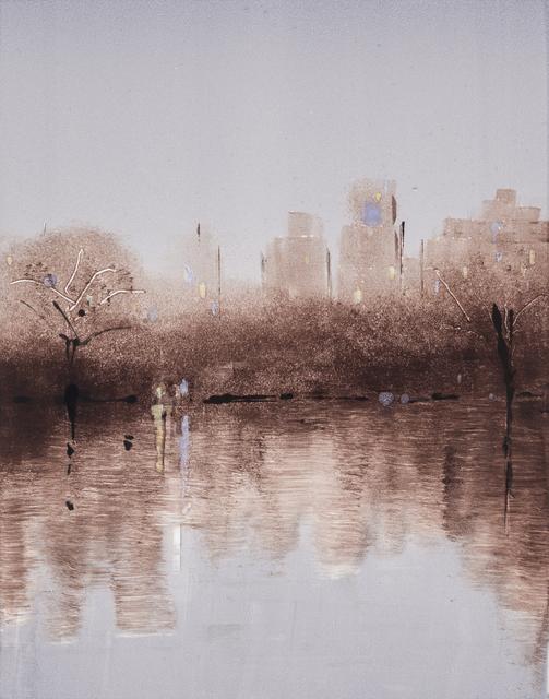 Lisa Breslow, 'Central Park Nocturne 2', 2018, Kathryn Markel Fine Arts