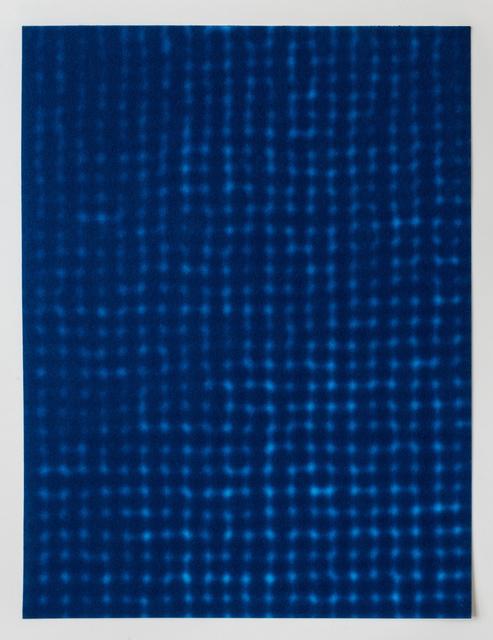 , 'Blau 11 ,' 2007, Galerie Pfab