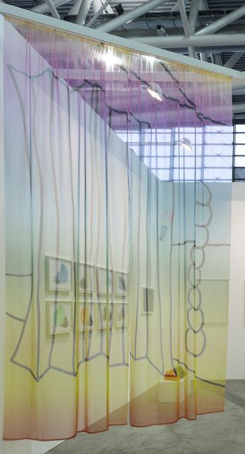 , ''Differences between lines hidden behind' (I),' 2017, Kasia Michalski Gallery
