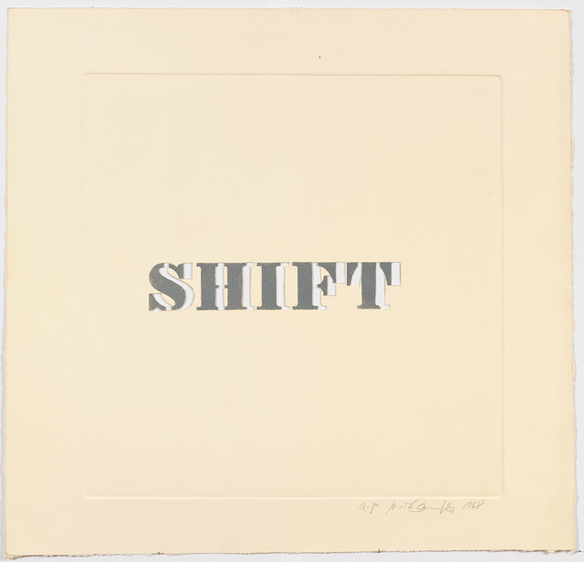 , 'Shift,' 1968, Alexander Gray Associates