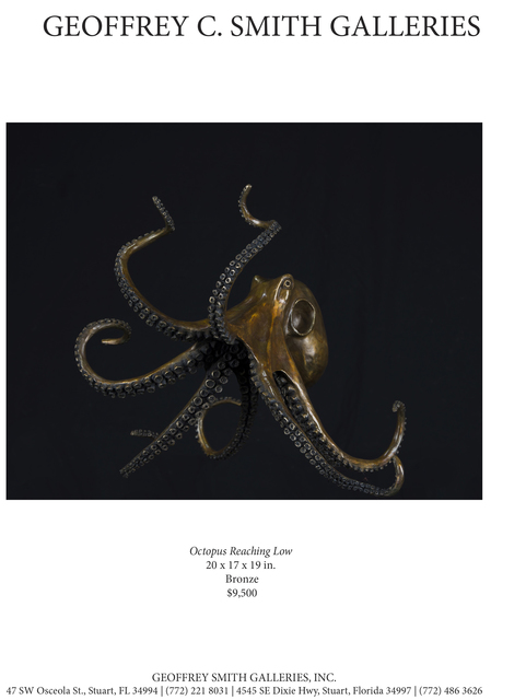 , 'Octopus Reaching Low,' , Geoffrey C. Smith Galleries