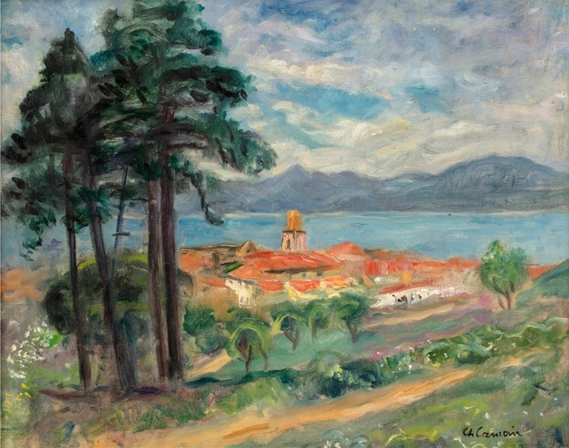 Charles Camoin, 'Paysage à Saint-Tropez', ca. 1950, BAILLY GALLERY
