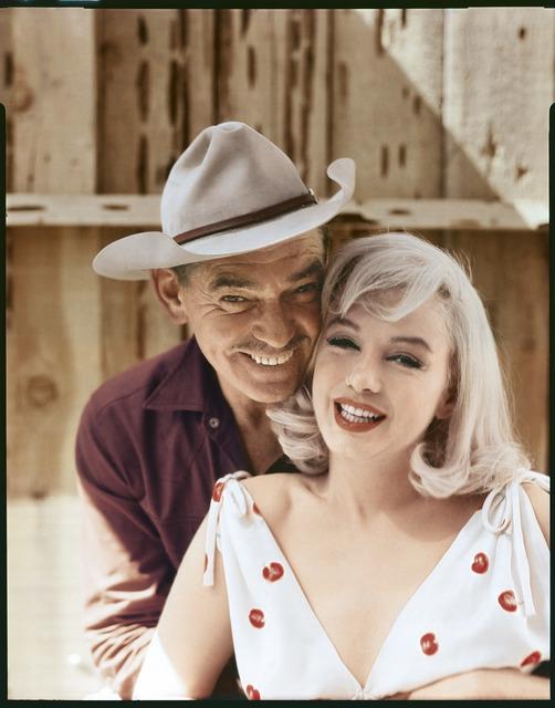 Elliott Erwitt, 'Clark Gable and Marilyn Monroe, Reno, Nevada, 1960', 1960, Huxley-Parlour