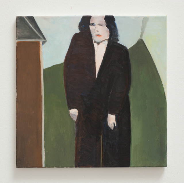 , 'Kvinna i svart / Woman in Black,' 2016, Galleri Magnus Karlsson