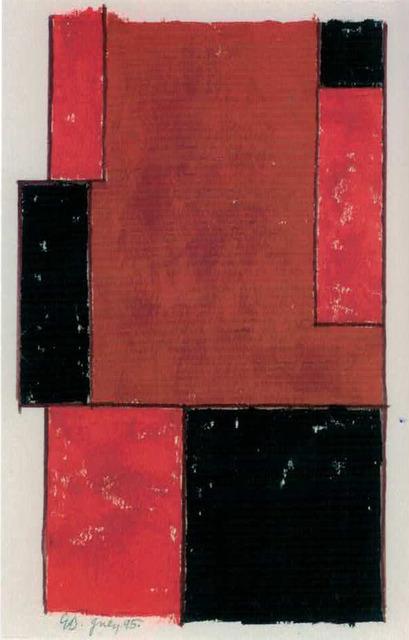 , 'Red Figuration 2,' 1995, Waterhouse & Dodd