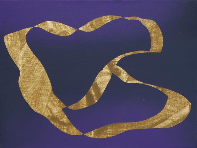 , 'Incorrect Shape #Gold,' 2019, Time Arts