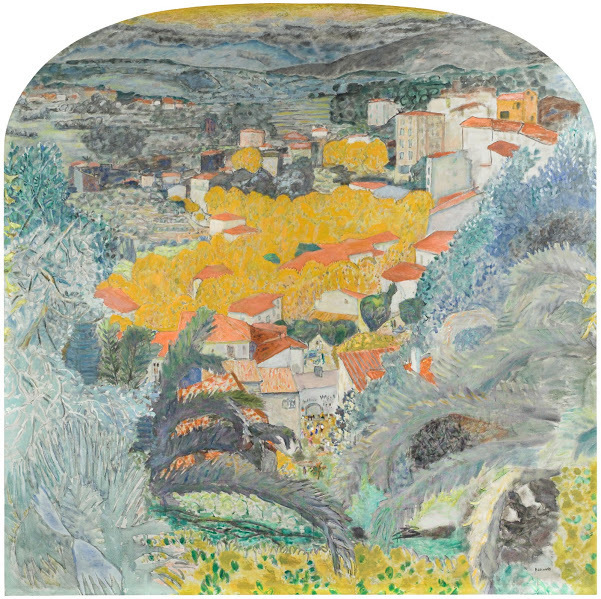 , 'View of Le Cannet,' 1927, Legion of Honor