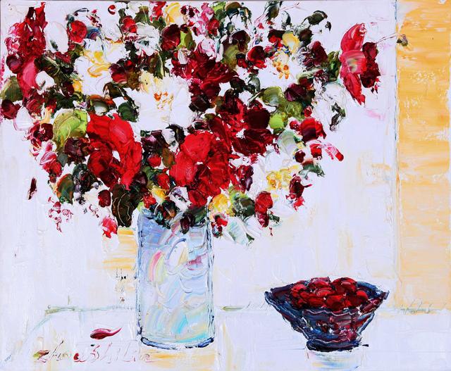 Zhou Shilin, 'Fresh Flowers #3', 2013, NanHai Art