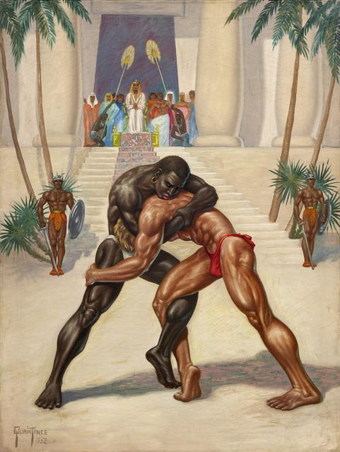 , 'Egyptian Wrestlers,' 1952, TASCHEN