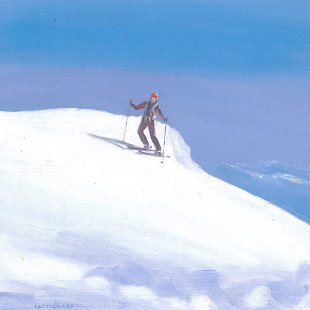 Sergi Castignani, 'Skieur', 2017, Carre D'Artistes