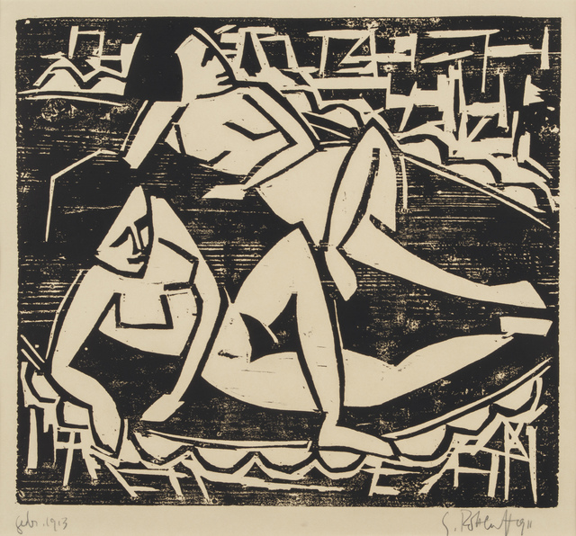 , 'Two Nudes,' 1911, Galerie St. Etienne
