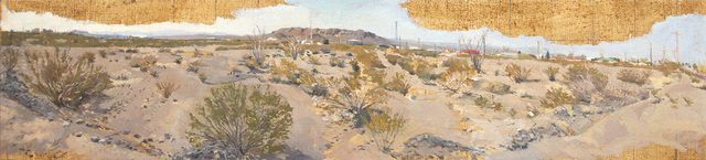 , 'Creosote Bushes, Presidio, TX (Study),' 2013, Betty Cuningham