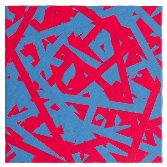 , 'SIGNAL (blue & red),' 2018, Brigitte March International Contemporary Art