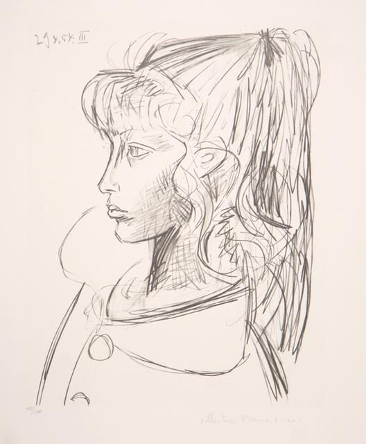 Pablo Picasso, 'Sylvette de Profil Gauche, 1954', 1979-1982, RoGallery