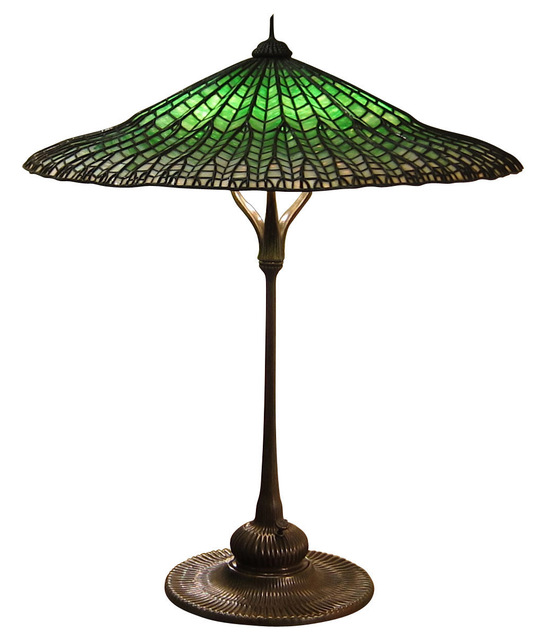 , 'Lotus Pagoda table lamp,' ca. 1906, DeLorenzo Gallery