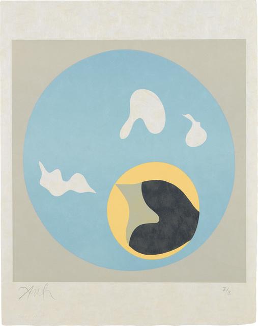 Jean Arp, 'Le Soleil recerclé (Around the Sun): plate 18', 1962-65, Phillips