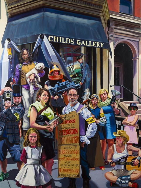 , 'Childs Gallery and the Great Aquinas Gambit,' 2014, Childs Gallery