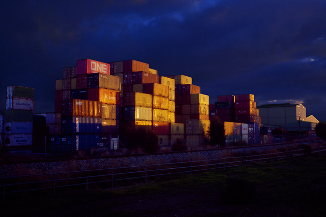 , 'Containers,' 2019, Hugo Michell Gallery