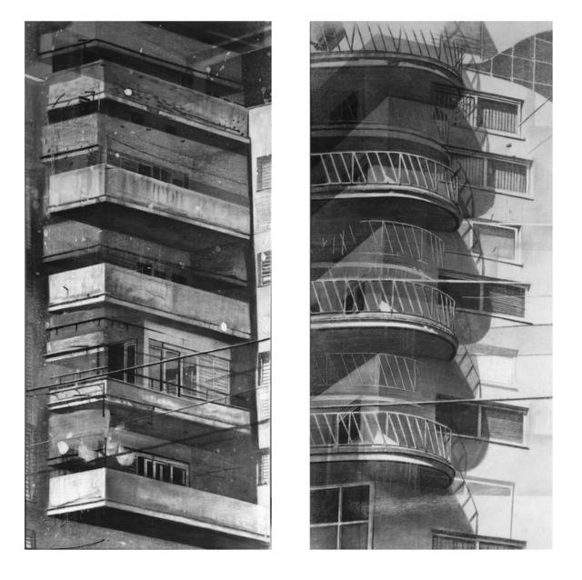 Daniel Rodríguez Collazo, 'De la serie: Ciudades Invisibles - Invisibles Cities ( Diptych)', 2018, Painting, Charcoal on canvas, JCamejo Art