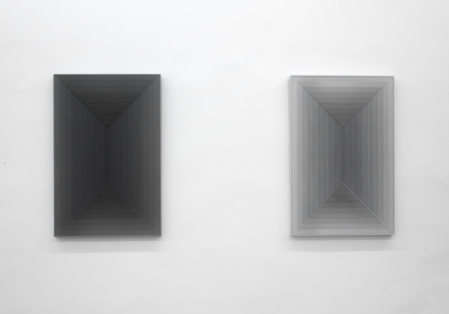 , 'Space-Series of Gray No.1 & 2,' 2017, EGG Gallery