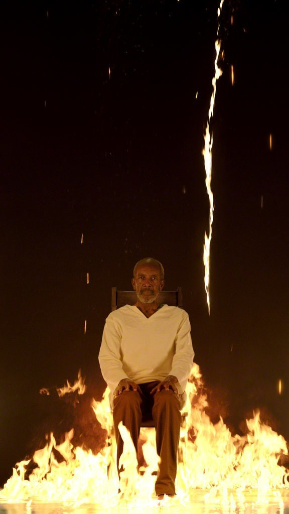 Bill Viola, U0027Fire Martyru0027, 2014, Faurschou Foundation