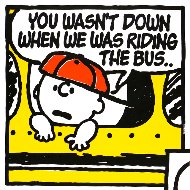 , 'The Bus (Ed O.G.),' 2018, Spoke Art