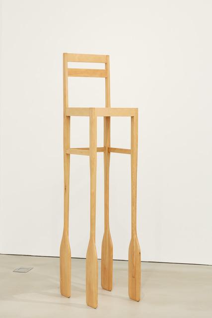 , 'Paddle Chair,' 2017, Kukje Gallery