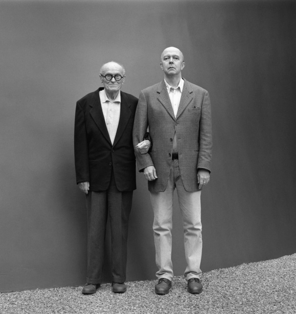 , 'Philip Johnson and David Whitney, New Canaan, Connecticut, November 1995,' , Lee Marks Fine Art