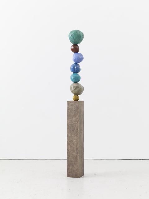 , 'Bronze Stack 7, Viridian Green,' 2017, Winston Wächter Fine Art