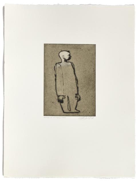 Louis-Pierre Bougie, 'Tête blanche', 1997, Atelier-Galerie A.Piroir