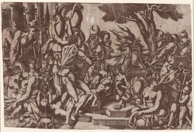 Antonio Fantuzzi, 'Sacrifice to Priapus', 1542, National Gallery of Art, Washington, D.C.