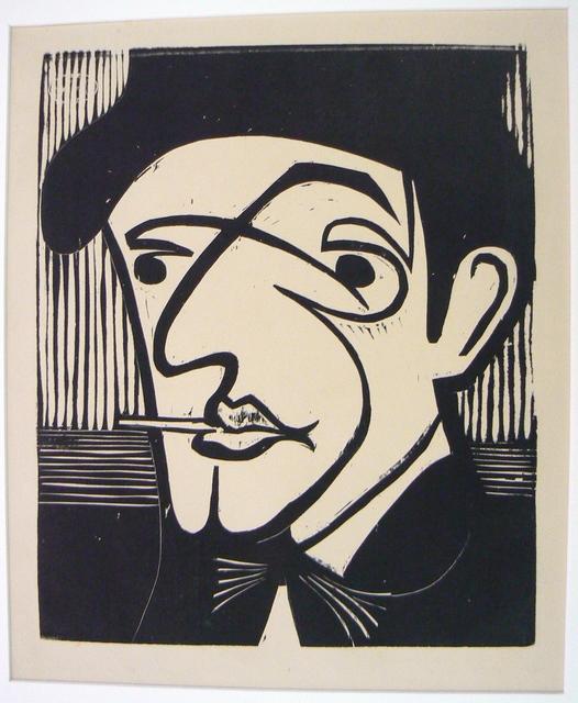 Ernst Ludwig Kirchner, 'Head of Alexander Mülleg', 1930, Henze & Ketterer