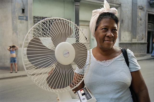 , 'Woman with a Fan, Havana ,' 2002, Wall Space Gallery