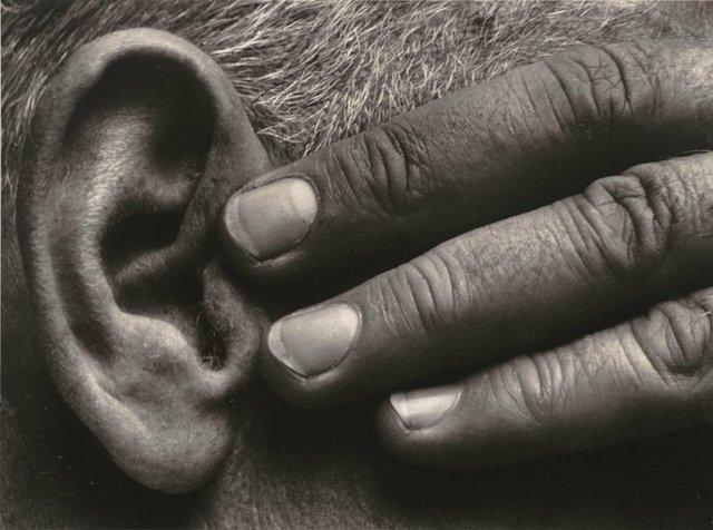 Brett Weston, 'Hand and Ear, Ramiel McGehee', 1930-printed circa 1975, Scott Nichols Gallery