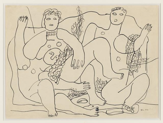 , 'Baigneuses sur la plage,' 1942, Opera Gallery