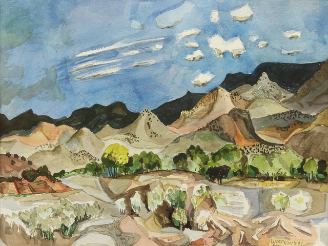 William Thomas Lumpkins, 'Near Abiqui', 1981, Addison Rowe Gallery