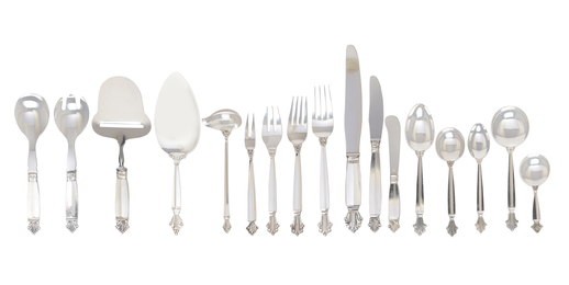 Georg Jensen Sterling Silver Assembled Flatware