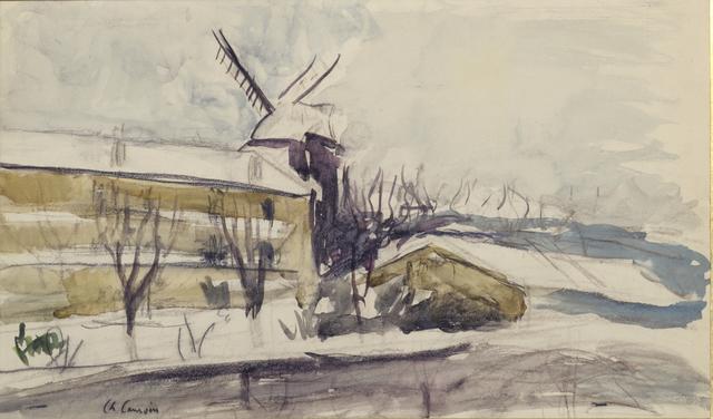 Charles Camoin, 'Paris, le moulin de La Galette', circa 1905, Leclere