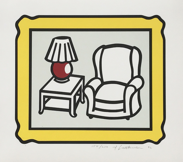 Roy Lichtenstein, 'Red Lamp', 1992, Eckert Fine Art