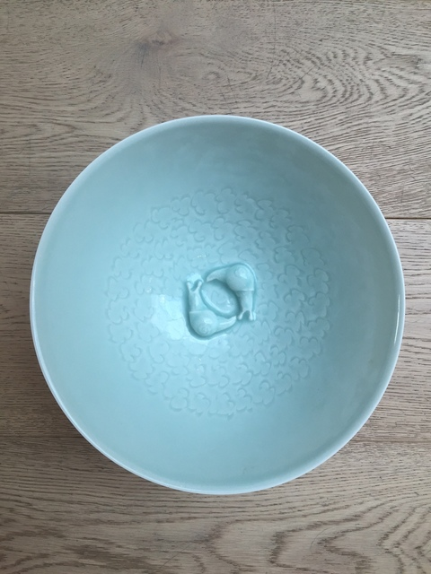 , 'SNAIL BOWL , celadon,' 2016, Sladmore Contemporary